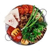 Садж-кебаб из баранины